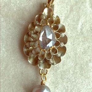 Jewelry - Genuine Antique Victorian Diamond Pendant